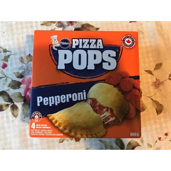 Pillsbury pizza pops