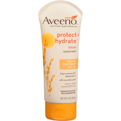Aveeno Active Naturals Protect + Hydrate Broad Spectrum Sunscreen Lotion, SPF 30