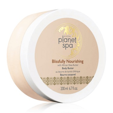 AVON Planet Spa African Shea Butter Body Butter
