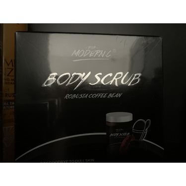 Mr Bean Body Care Coffee Scrub