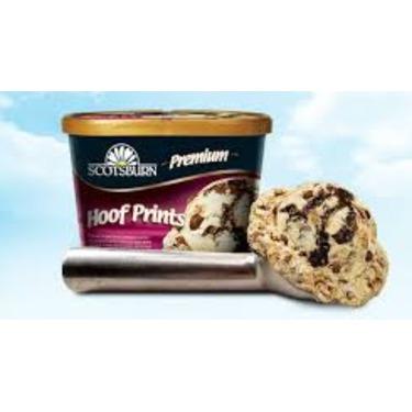 Scotsburn hoof prints ice cream