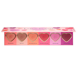 Too Faced Love Flush long lasting wardrobe blush palette