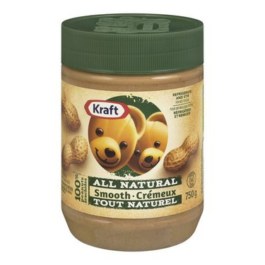 Kraft All Natural Smooth Peanut Butter