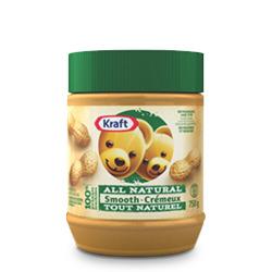 Kraft All Natural Smooth Peanut Butter