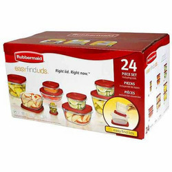 Rubbermaid Easy Find Lid Food Containers