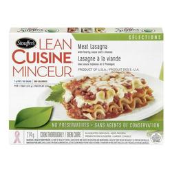 Stouffer's Lean Cuisine Lasagna