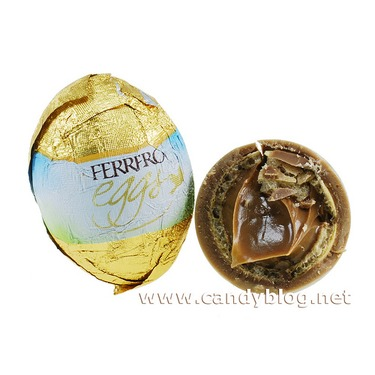ferrero eggs ( hazelnut)