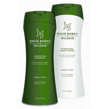 David Babaii for WildAid Shampoo & Conditioner