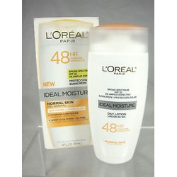 L'Oreal 48 Hour Ideal Moisture Day Lotion for Normal Skin w/SPF 25