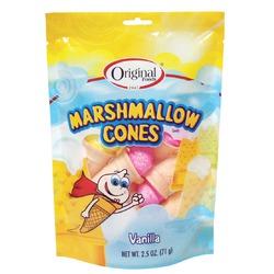 Marshmallow cones