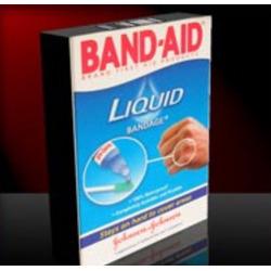 Band aid liquid bandage