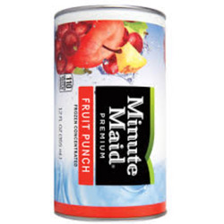 Minute Maid frozen fruit punch