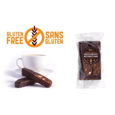 Sweets from the Earth GF Chocolate Almond Biscotti