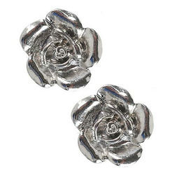 Forever 21 Rose Stud Earrings