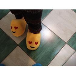 Emoji Faces Cartoon Cute Smiley Slippers