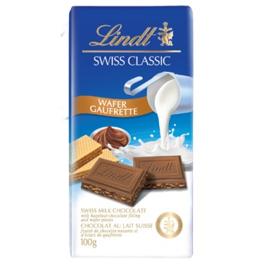 Lindt Swiss Classic Wafer Bar