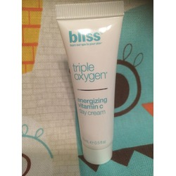Bliss - Triple Oxygen Energizing Vitamin C Day Cream