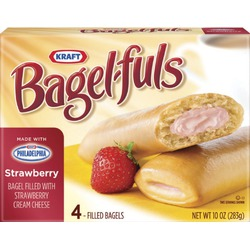 Kraft bagel-fuls