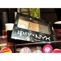NYX Cosmetics ipsy eye shadow trio