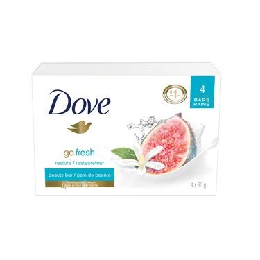 Dove Go Fresh Restore Beauty Bar - Blue Fig & Orange Blossom
