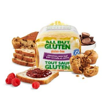 All but Gluten Cinnamon Raisin Loaf