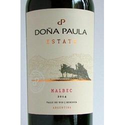 dona paula estate malbec red wine