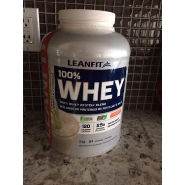 LeanFit 100% Whey Vanilla Protein