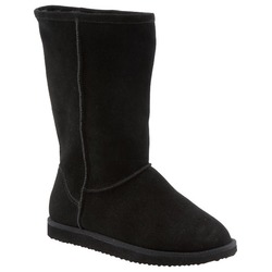 Old Navy Suede Faux Fur-Lined Boots