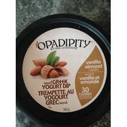 Litehouse Opadipity Sweet Greek Yogurt Dip vanilla almond flavor
