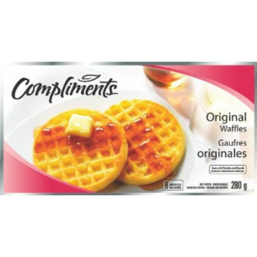 Compliments Original Waffles