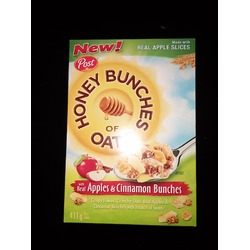 Post Honey Bunches of Oats with Real Apples and Cinnamon Bunches