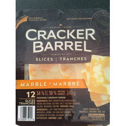 Cracker Barrel Marble Cheese