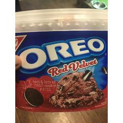 Oreo Red Velvet Ice Cream