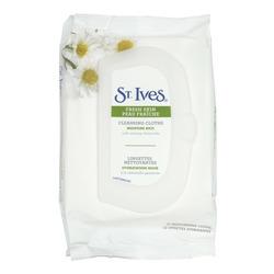 St. Ives Fresh Skin Moisture Rich Cleansing Cloths