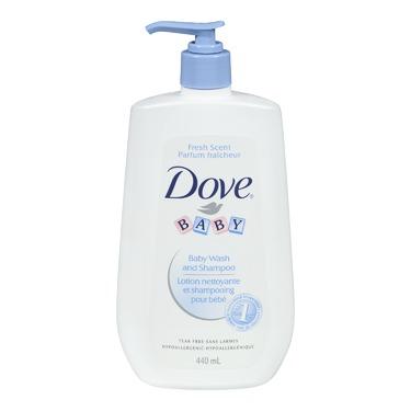 Dove Baby Fresh Scent & Tear Free Wash & Shampoo