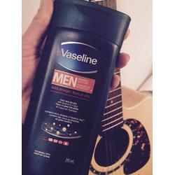 Vaseline Intensive Care Men Repairing Moisture Extra Strength Body & Face Lotion
