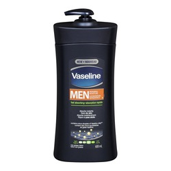 Vaseline Intensive Care Men Repairing Moisture Unscented Body & Face Lotion