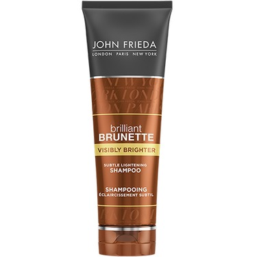 john frieda brillant brunette- visibly brighter shampoo