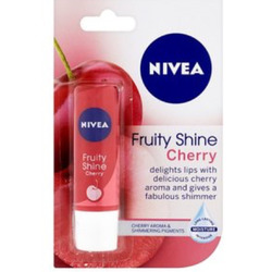 Nivea Fruity Shine Lip Care in Cherry