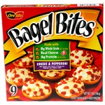 Cheese And Pepperoni Bagel Bites