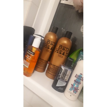 Bed Head Dumb Blonde Shampoo and Conditioner
