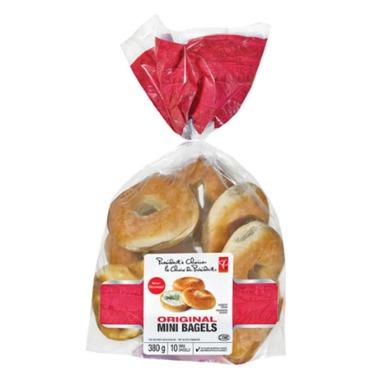 President's Choice original mini bagels