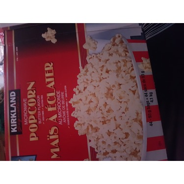 Kirkland Low-Fat Microwavable Popcorn