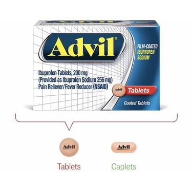 Advil Film-Coated Rapid Release