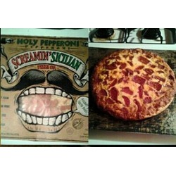 Screamin' Sicilian Holy Pepperoni Pizza