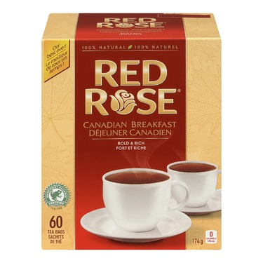 Red Rose Canadian Breakfast Tea Bags