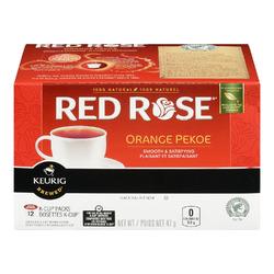 Red Rose Orange Pekoe Black Tea K-Cup Packs
