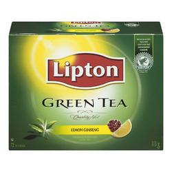 Lipton Green Tea Lemon Ginseng Tea Bags