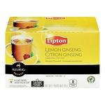 Lipton Lemon Ginseng Green Tea K-Cup Packs