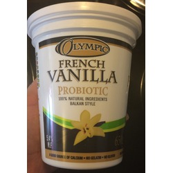 Olympic French vanilla probiotic Balkan Style